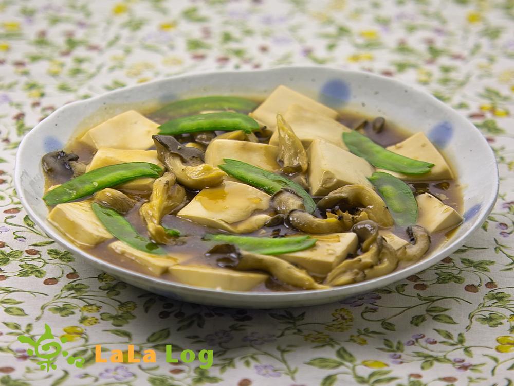 ララひらたけと豆腐のうま煮